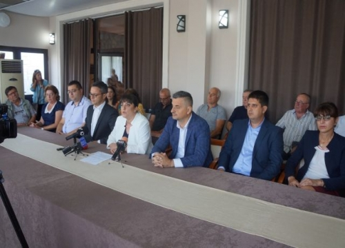 Кандидатът за кмет на Ямбол Катя Георгиева представи решения за проблемите на града