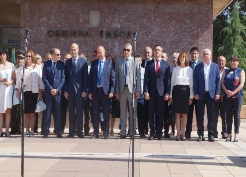 Групата съветници от БСП и народните представители участваха в празника на Ямбол
